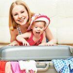 планирование поездки с малышом