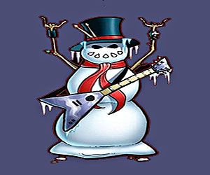 новый год в стиле рок-н-ролл